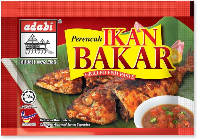 Grilled Fish Paste - Adabi